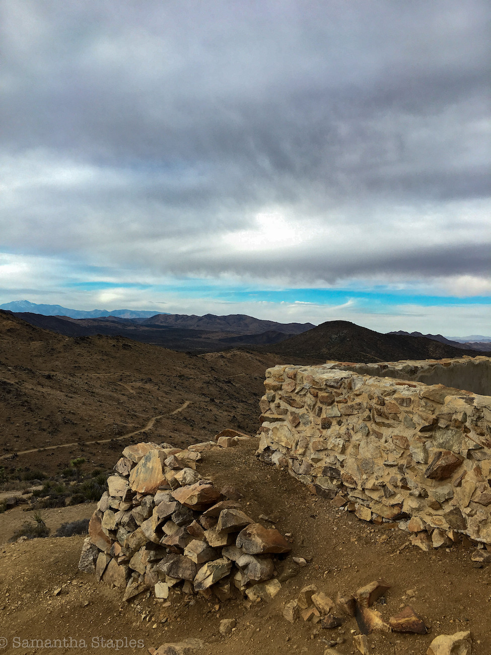 View from the top of Lost Horse Mine.
