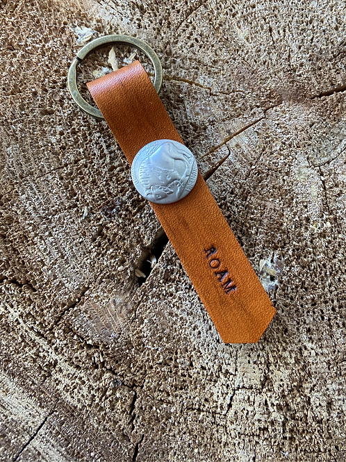 ROAM KEYCHAIN-BUFFALO NICKEL