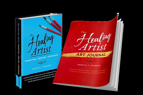 The Healing Artist + Art Journal +Autographed