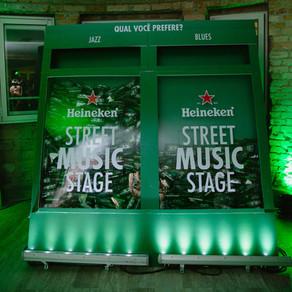 Jazz Mansion traz ativação sustentável em parceria com a Heineken
