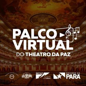 Theatro da Paz retoma as atividades com jazz no projeto 'Palco Virtual'