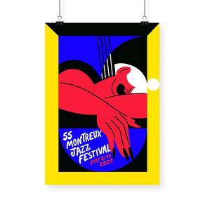 Cartaz da edição da edição 2021 do Montreux Jazz Festival é divulgado