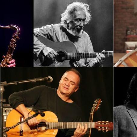 Gigantes da música se encontram no festival Jazz Meeting
