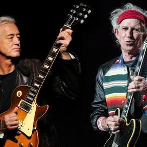 """Lançamento: Rolling Stones lança música perdida """"Scarlet"""" com participação de Jimmy Page"""