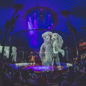 Circo Alemão substitui animais reais por hologramas em seus espetáculos