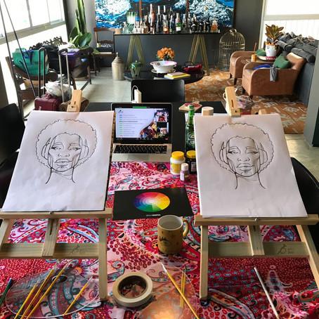 Artistas do mundo inteiro se reuniram no Art & Jazz desse domingo