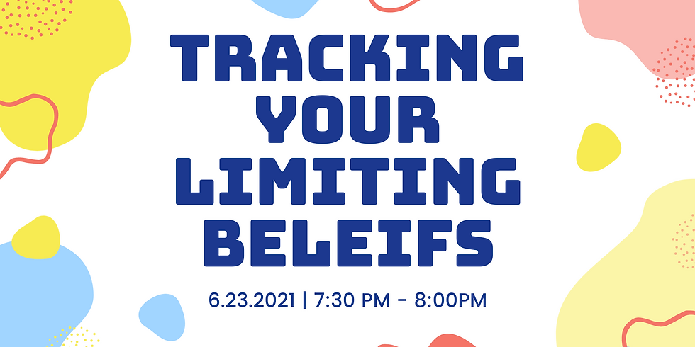 Tracking Your Limiting Beliefs