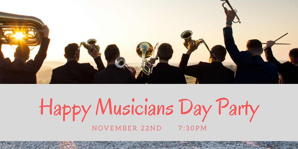 Happy Musician Day Party