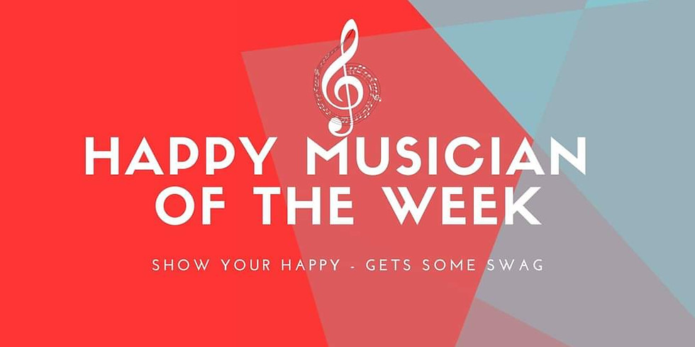 Happy Musician of the Week