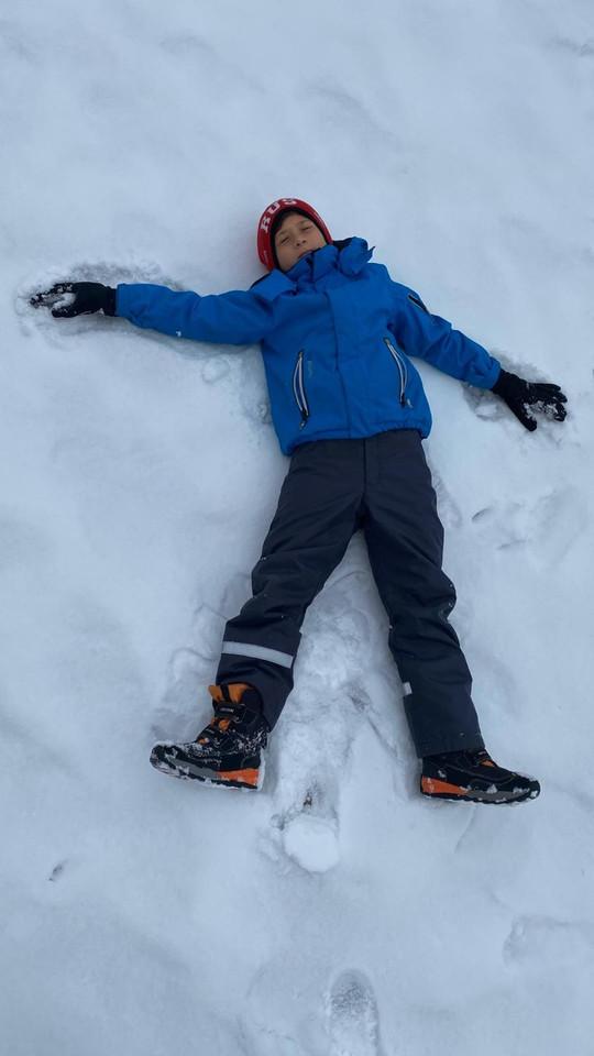 Enjoying the snow again