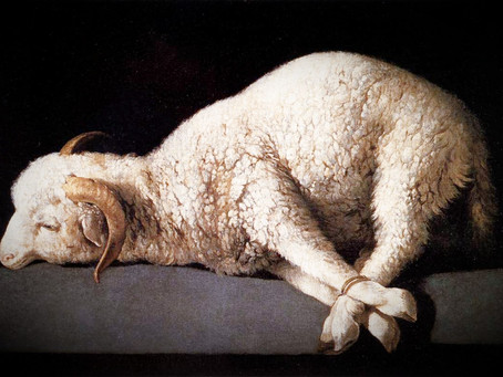 Passover, and the Sacrificial Lamb