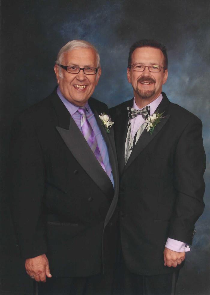 Ed (left) and Harlon Picker