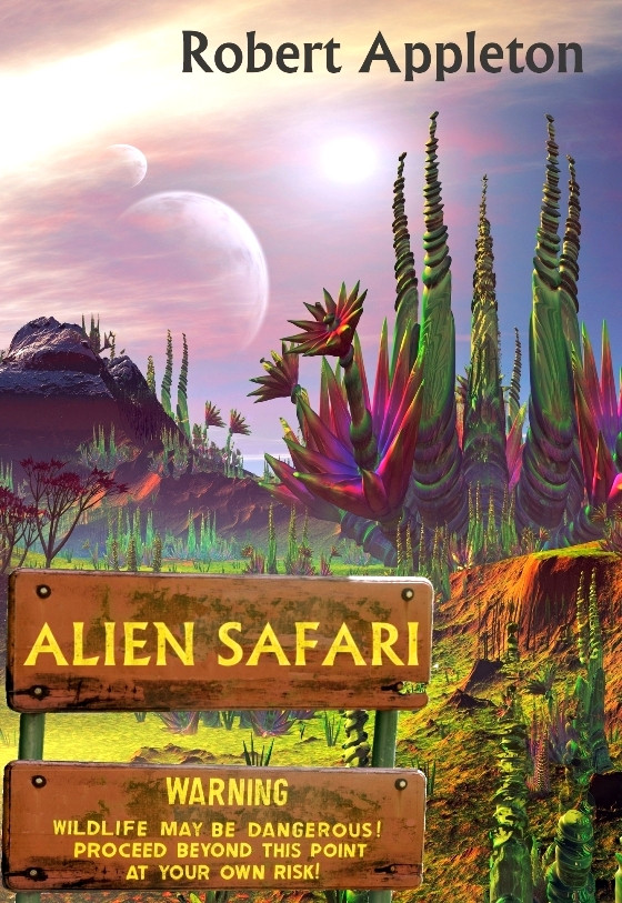Alien Safari Coming Soon to Audible!