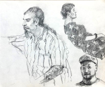 jory glazener-sketch drawing-portrait-2 men-girl