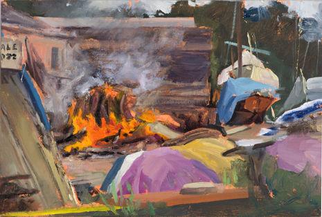 Burning in the Boatyard