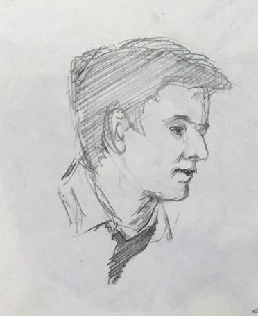 jory glazener-sketch drawing-portrait-man