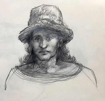 jory glazener-sketch drawing-portrait-boy
