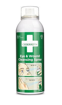 Spray nettoyant pour yeux et plaies