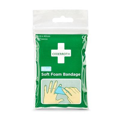 Soft Foam Bandage Blue – Format poche