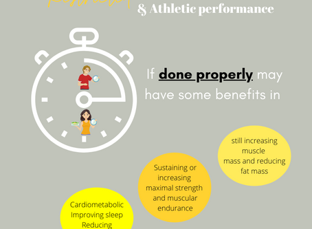What Does Science Say: Restricted Intermittent Fasting & Athletic Performance