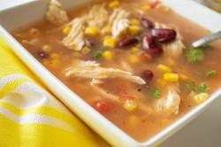 Crockpot & Chicken Bean Soup
