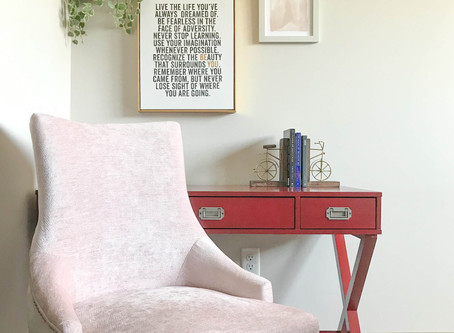 Home Decor: Tips to building a charming home office space.