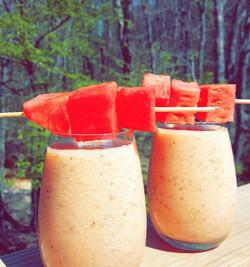 Watermelon &  Melon Smoothie