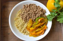 Quinoa Turkey Fajita