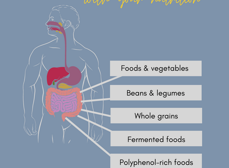 Improve your Gut Health with your Nutrition.