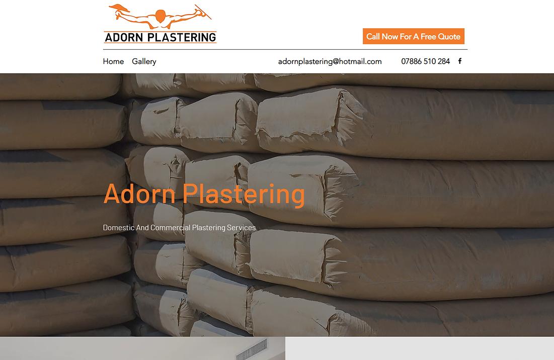 Adorn Plastering