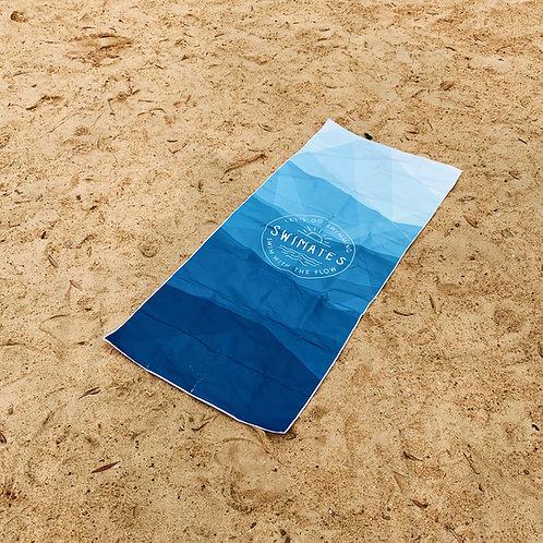 漸變沙灘瑜伽巾|Gradient beach towel