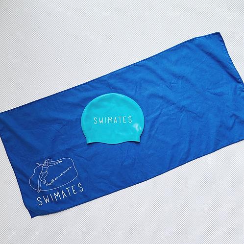 藍色吸水巾|Blue towel