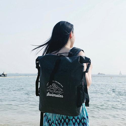 22L 黑色防水背包|Black 22L waterproof backpack