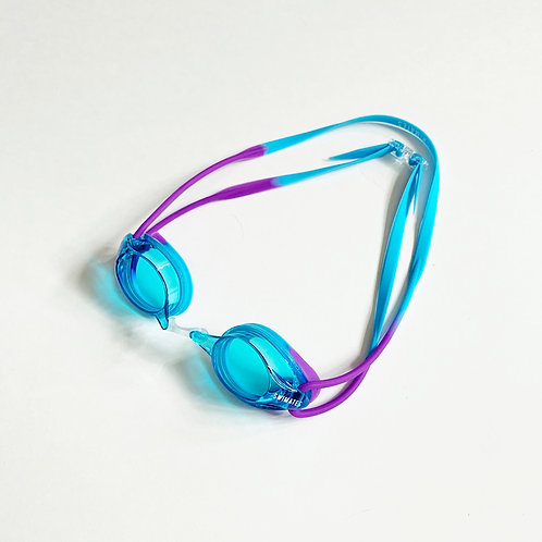 紫藍色平光泳鏡|Purple blue flat goggle