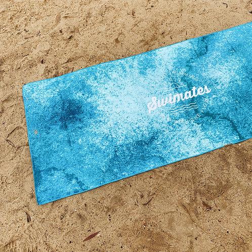 海浪沙灘瑜伽巾|Wave beach towel