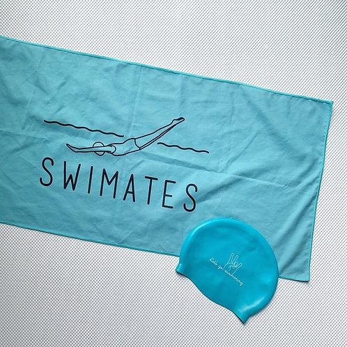 天藍色吸水巾|Sky Blue towel