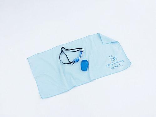 淺藍色吸水巾|Light blue towel