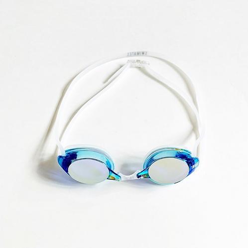 藍色反光泳鏡|Blue reflective goggle