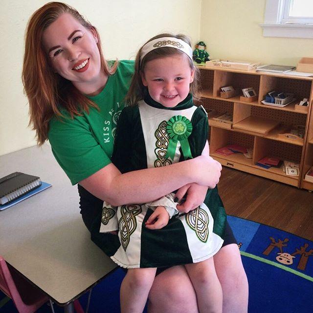 We Irish girls stick together 🍀