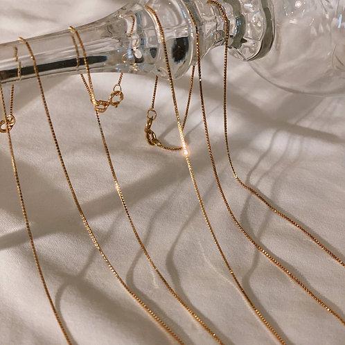 "Always Coco - 16"" Always Gold Chain Necklace"