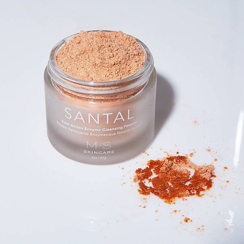 M.S Skincare - Santal | Dual Action Enzyme Powder Cleanser
