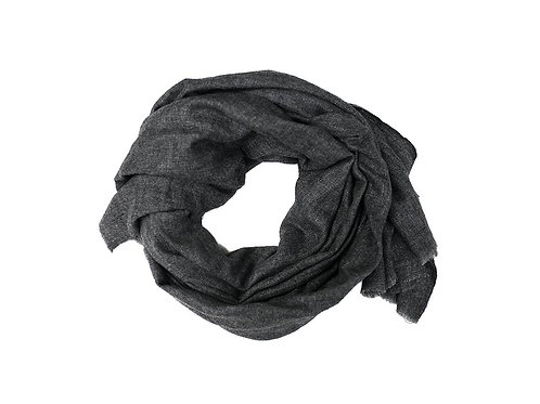 Foxtail Goods Cashmere Scarf - Charcoal Grey