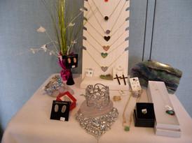 Duzy Quartz Jewelry, Fluorite, Bismuth,
