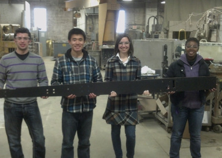 Northwestern University Solar Car Team again partners with Cutting Edge Water Jet Service