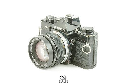 Olympus Om-2 with 35mm Zuiko F2