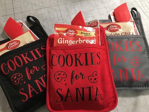 Christmas Potholder gift package