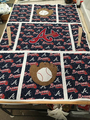 SPORTS BABY QUILTS