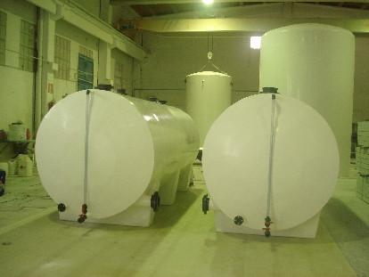FRP glass fiber tanks
