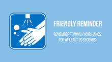 Wash Hands Reminder