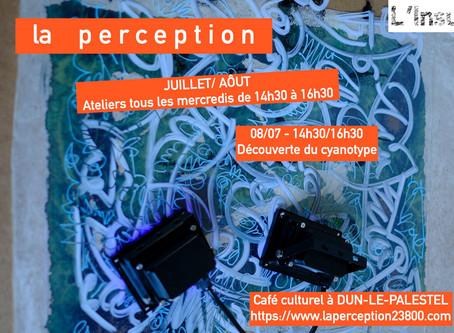sous le soleil exactement / atelier de découverte du cyanotype